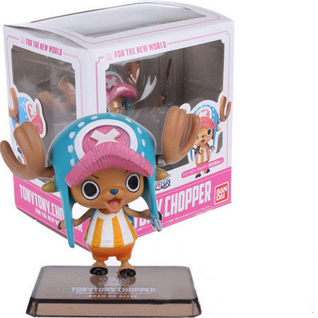 One Piece Tony Tony Chopper Figuarts Zero Anime PVC Figure New World 2 years later Straw Hat Pirates collection toys gifts model(China (Mainland))