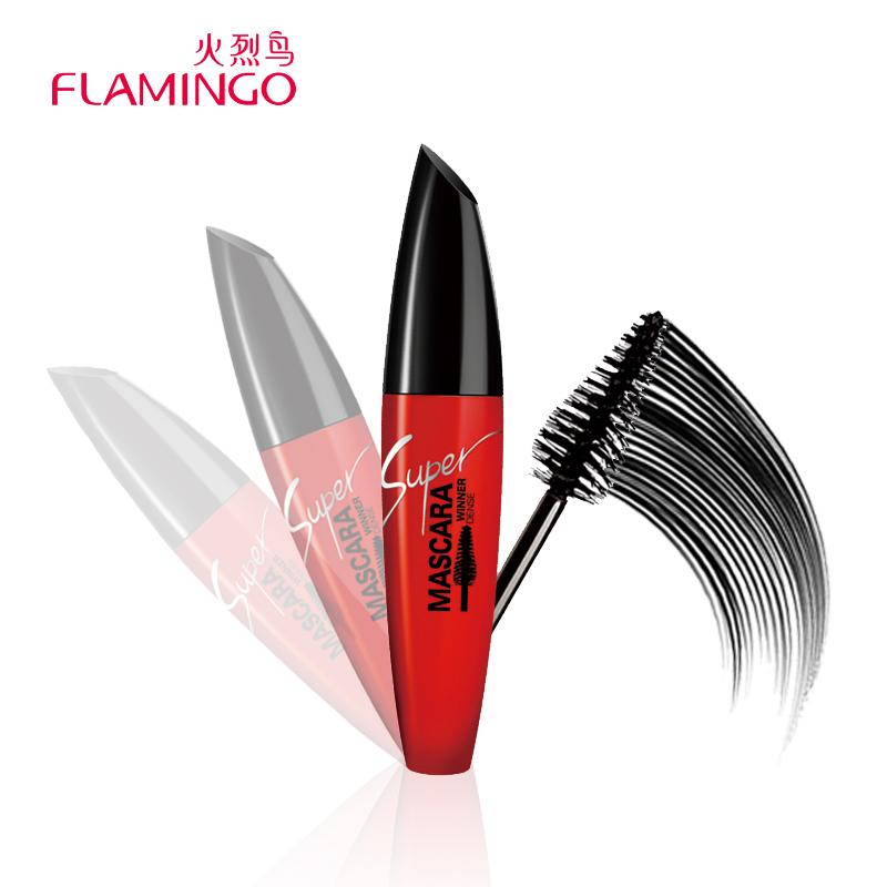 Free Shipping China Top 1 Brand Flamingo Mascara Fast Dry Collagen Volumizing Curling Water-resistant Mascara 61020(China (Mainland))