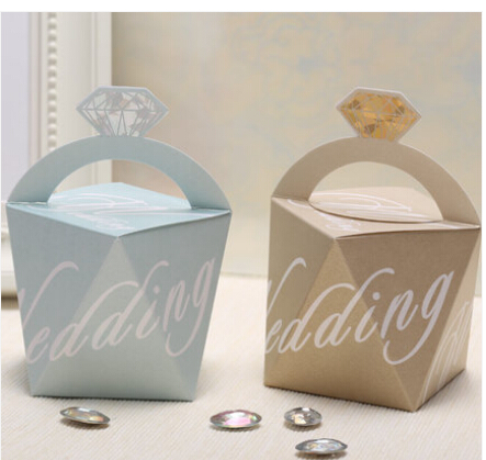 wedding favor box candy gift box with pearl pattern,baby shower favor ...