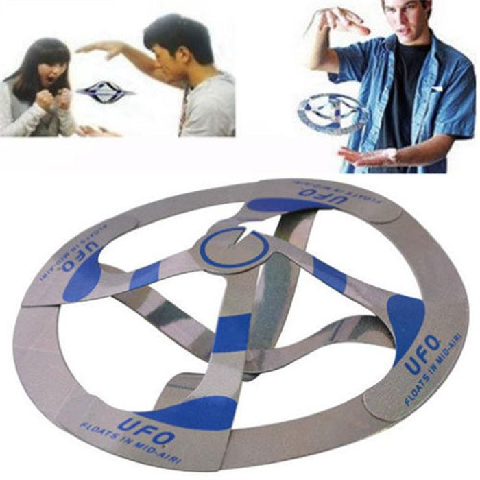 Mystery UFO Floating Flying Saucer Magic Toy Trick products as seen on TV wholesale simple packdge(China (Mainland))