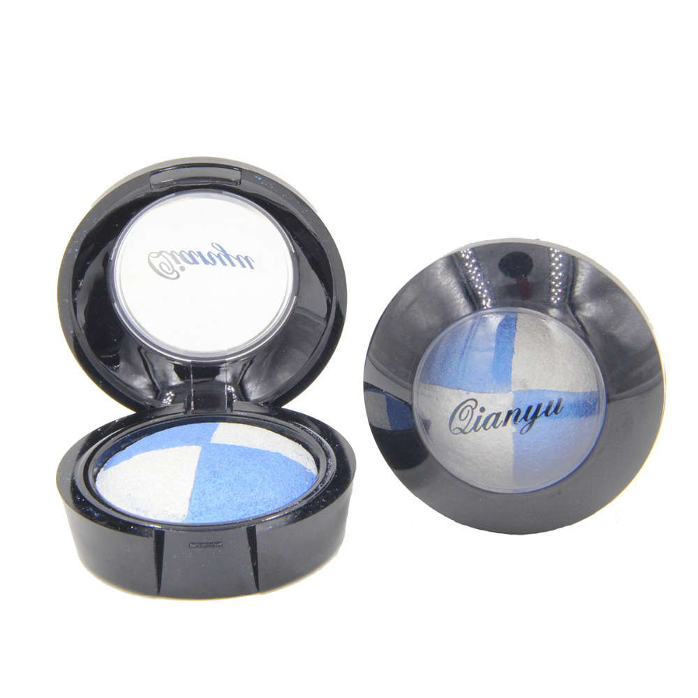 2 Different New Fashion Professional Natural Pigment Eyeshadow Palette Cosmetic Makeup Eye Shadow(China (Mainland))