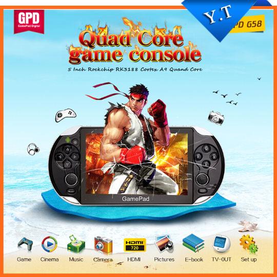 Портативная игровая консоль 5 tablet pc GPD G58 Gamepad Android 4.4 1 G RAM 8 IPS 1920 x 1080