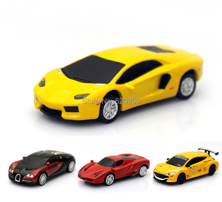 Free shipping! Wholesale Hot Selling Genuine 8GB 16GB 32G USB Flash Drive Pen Drive Stick Red Car Free shipping+Drop shipping(China (Mainland))