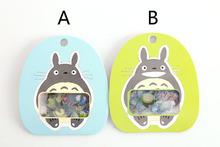 2pack Japan Ghibli / Miyazaki animation Totoro PDA package transparent decorative stickers stickers