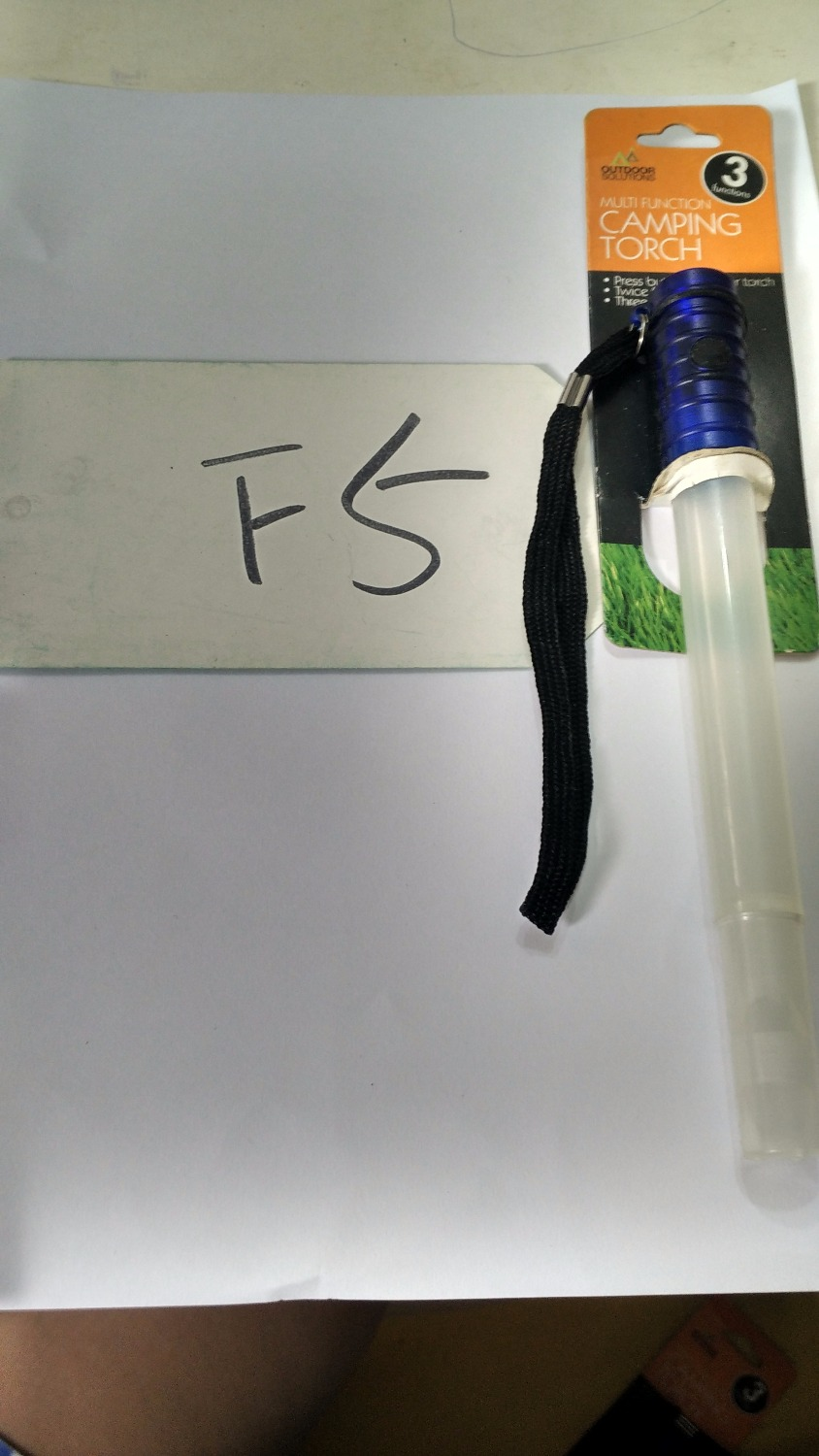 F5 CAMPING TORCH Airsoft Softair one bid(China (Mainland))