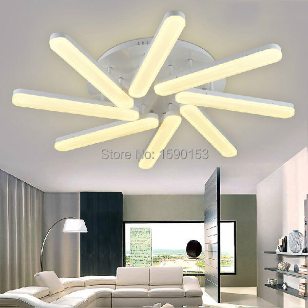 dining room lamp modern brief led ceiling lamp 96w in ceiling lights