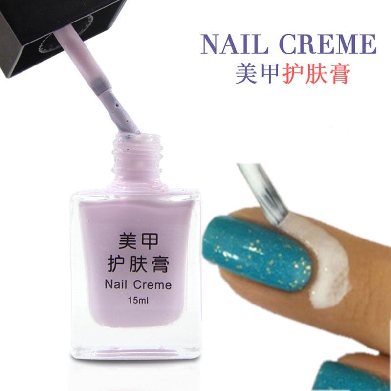 2016 hot 15ML Nail Art Tools Manicure Skin Care Cream Protected Liquid Palisade Fingernail Edge Polish Nail Skin Care Creme(China (Mainland))