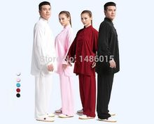 Traditional Chinese Kung fu Taiji Suit Tai Chi Uniform Martial Arts Performance Clothes Mens and Womens Morning Exercise Suits
