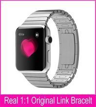 4th Gen Real 1:1 Origianl Link Bracelet Band For Apple Watch 42mm38mm Made By 316L Stainless Steel With Custom Butterfly Closure