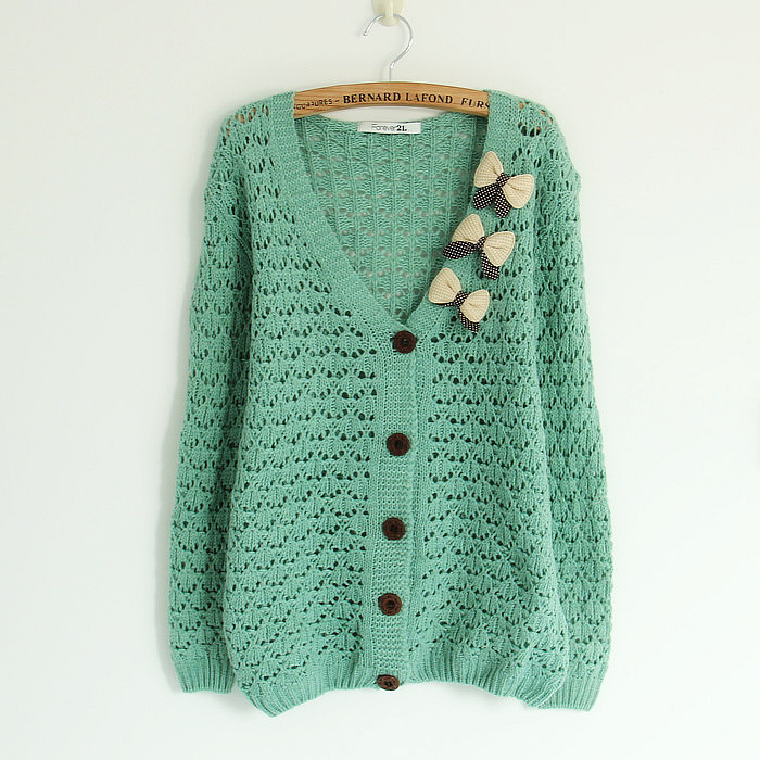 Stitch Knitted Sweater Together : Long sleeve Cardigan women Sweater knitted Cardigans 2015 Women Fashion Open ...