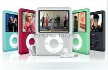 """Free shipping+Free Gift Real 8GB capacity Slim 1.8"""" LCD 3th MP3 MP4 Player mp3 player, Video, Photo Viewer, eBook(China (Mainland))"""