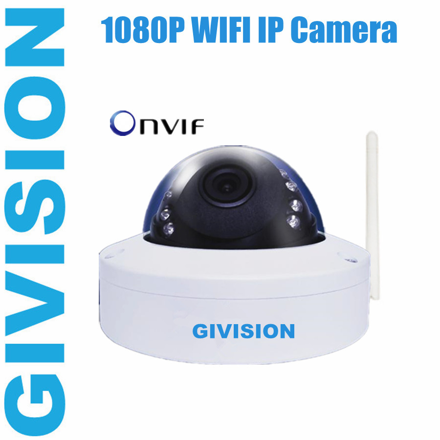 onvif mini IP Camera 1080P 2mp hd wireless IR Dome wifi Outdoor waterproof megapixel security ipcam cctv camera p2p mobile phone(China (Mainland))