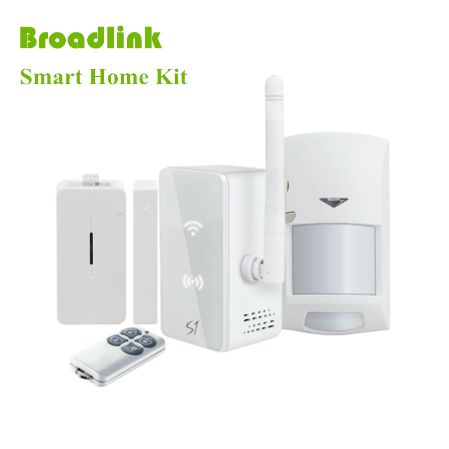 2016 new broadlink s1c s1 smartone alarm security sensor kit for home smart home automation. Black Bedroom Furniture Sets. Home Design Ideas