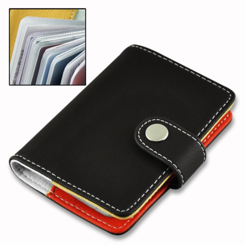 Aliexpress Buy Leather Business Credit Card Holder