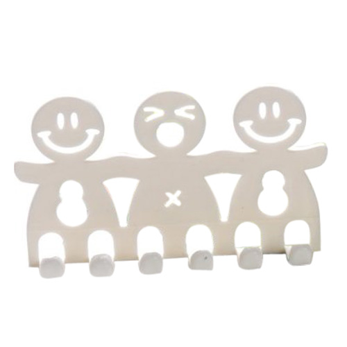 ews deux morceaux mignon visage souriant support de brosse. Black Bedroom Furniture Sets. Home Design Ideas