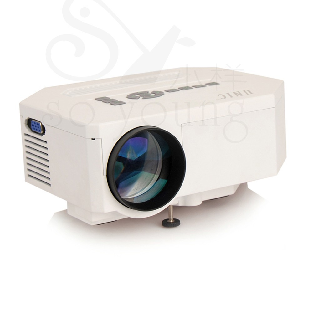 2014 newest uc30 mini portable projector pro projector av for Small hdmi projector