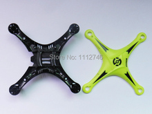 Wholesale 1PCS RC Helicopter MINGJI 102 UFO 6 Axis GYRO Drone 2.4G 4 Channel RC Quadcopter Fuselage Spare Parts. Free shipping.