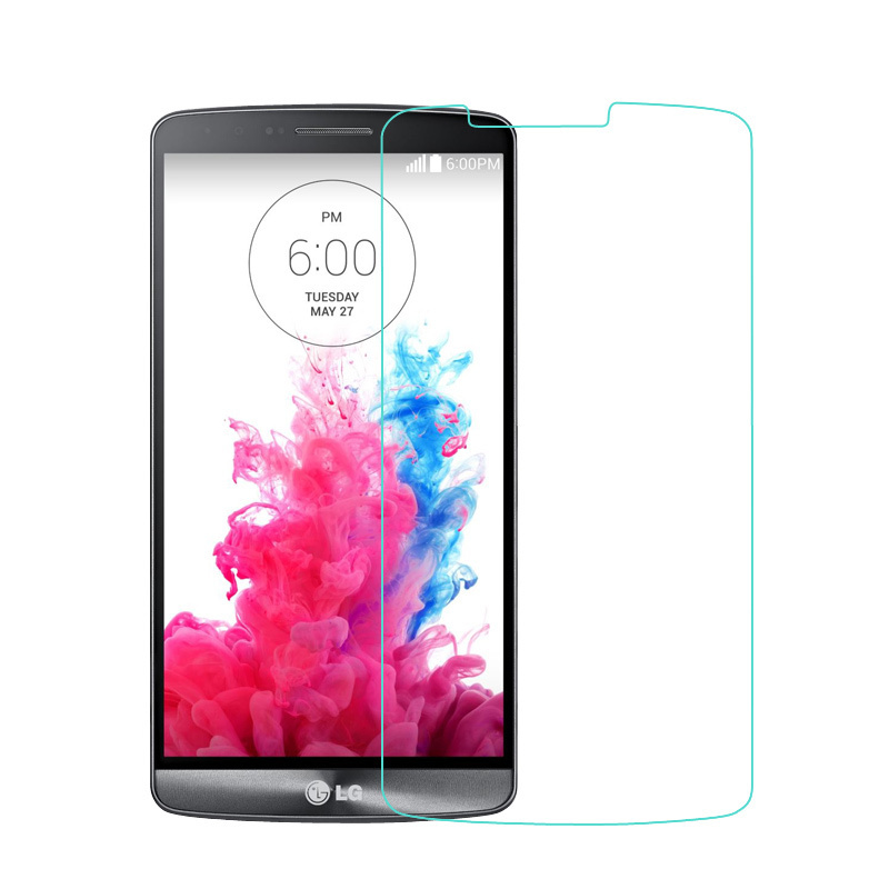 G3 Tempered Glass 2014 New 9H 0.3mm 2.5D Tempered Glass Screen Protector Film for LG G3 D850 D855(China (Mainland))