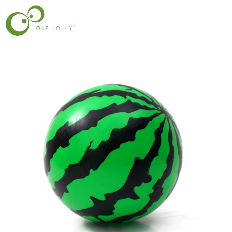New Kids Inflatable Ball Toy 14cm Plastic Ball Watermelon Ball PVC Ball Child Baby Gifts Puppe Boneca Muneca Juguetes S8(China (Mainland))