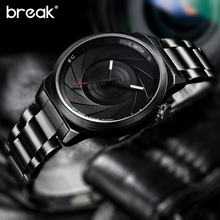Buy BREAK Rubber Strap Luxury Brand Women Men Unisex Waterproof Fashion Casual Wristwatches Quartz Unique Creative Sports Watches for $19.83 in AliExpress store