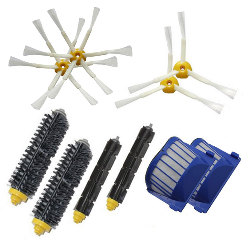 2016 hot sale 6 Armed Side Brush for iRobot Roomba 600 Vacuum Cleaners for iRobot Roomba 610 620 625 630 650 660(China (Mainland))