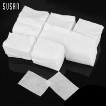 400 X HEIßEN Tüchern Neue Sauber Papier Wattepads Nagellackentferner Make-up Nagelkunstwerkzeuge(China (Mainland))