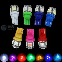 1x White 360 Degree 5050 SMD 168 194 2825 w5w T10 LED Car Led Light Bulbs For Parking led License Plate Lights