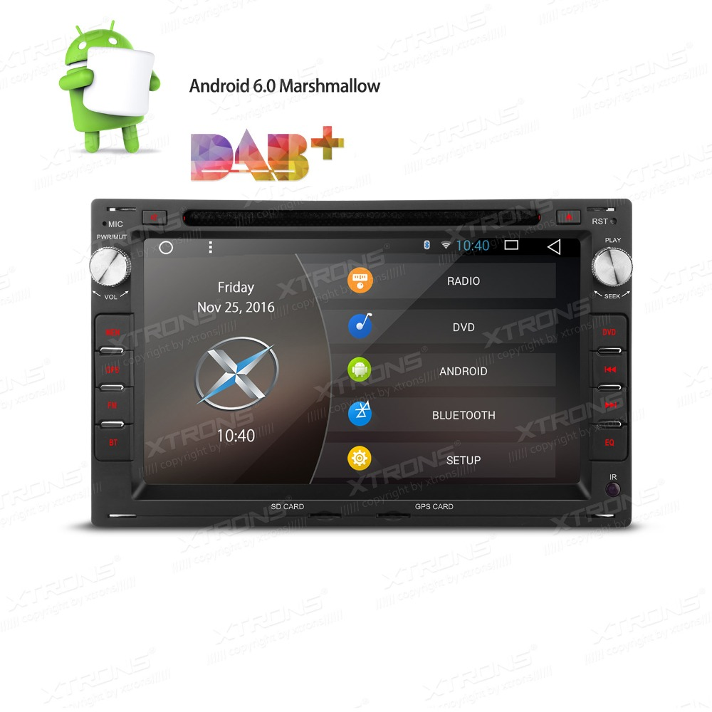 "XTRONS 7"" Android 6.0 Radio Car DVD Player GPS CANbus for vw TRANSPORTER JETTA/SEAT IBIZA 6L LEON 1M/SKODA Octavia/Peugeot 307(China (Mainland))"