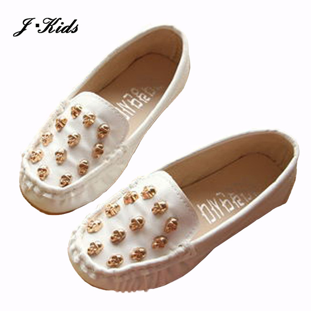 Размер 21 - 36 новых 2016 дети девочки кроссовки обувь мода череп конфеты цвет искусственная ...