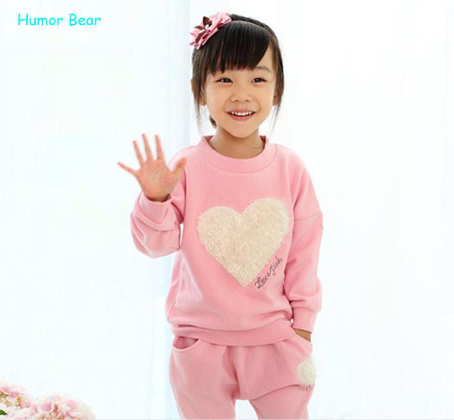 Гаджет  Retail 1pcs love clothing kids girls clothes sets,baby girl long sleeve + pant  set Children love sports kids clothing sets None Детские товары