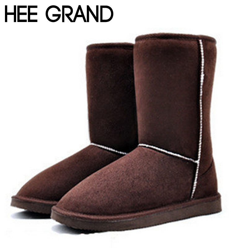 new 2014 women Winter Snow Boot 6 Solid Colors Warm Cotton Boots Shoes Eur Size Drop Shipping XWX273<br><br>Aliexpress