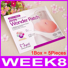Hot! Korea Belly Wing Mymi Wonder Patch Abdomen Treatment Loss Weight Products Health Fat Burning Slimming Body Waist