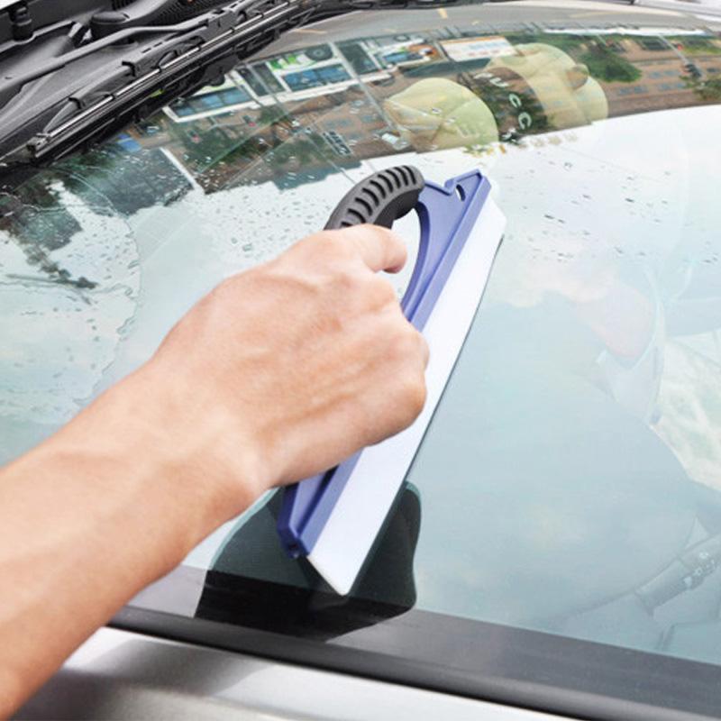 Car Wash Scraper Ultra Soft Broadside Of Nonrigid Wiper Plate Glass Cleaning Scraper Car Film