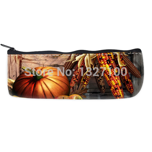 home decor Happy thanksgiving day pencilcases Bag beautiful(China (Mainland))