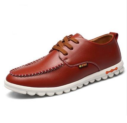 2015 new men's casual shoes lace autumn air shoes size low to help England Doug shoes shoes men