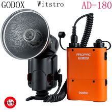 GODOX Witstro AD-180 180W GN60 External Portable Flash Light Speedlite with PB960 Lithium Battery Pack Kit for Canon Nikon(China (Mainland))