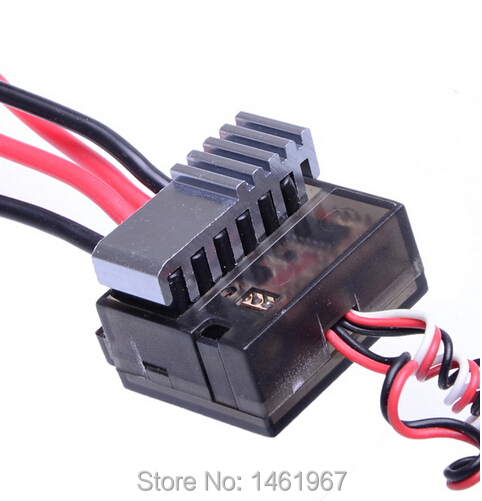 Free shipping 320A Brushed Electric Speed Controller Brush ESC by Nickel NiMH 4.8 - 8.4V For RC Car boart 1/8 1/10 Truck Buggy(China (Mainland))