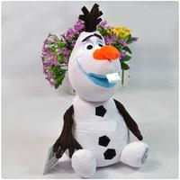 22 см, Олаф популярный Снежный человек мягкой начинкой и плюшевые игрушки brinquedos подарки оптовым pt003
