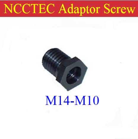 Adaptor adapter screw thread M14 male-M10 female Reducer for use with Angle hand-held Grinders polishers FREE shipping(China (Mainland))