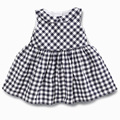 New 2016 Summer Baby Dresses Girl Plaid Dress Girls Casual Dresses Kids Costumes Fashion Baby Clothing