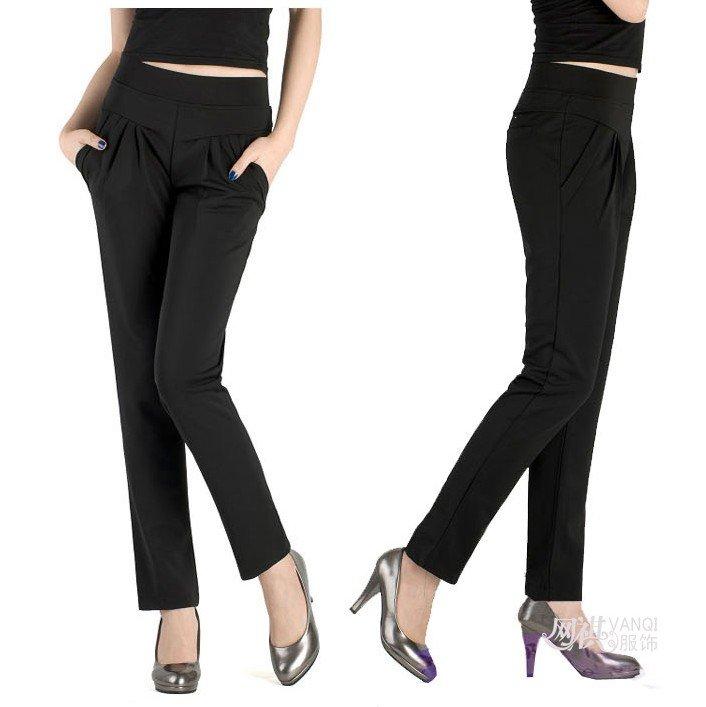 Womens Black Trouser Pants | Gpant