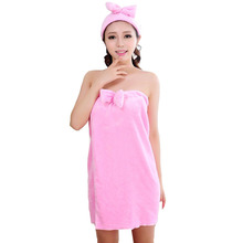 Bathrobe Women 2016 Winter Hot Sale Soft Flannel Casual Solid Sexy Warm Together Bow Headband Women's Robes Bath Robe NSP018(China (Mainland))