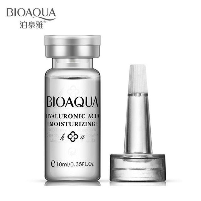 Новый уход за кожей марка BIOAQUA гиалуроновая кислота жидкость против морщин против ...