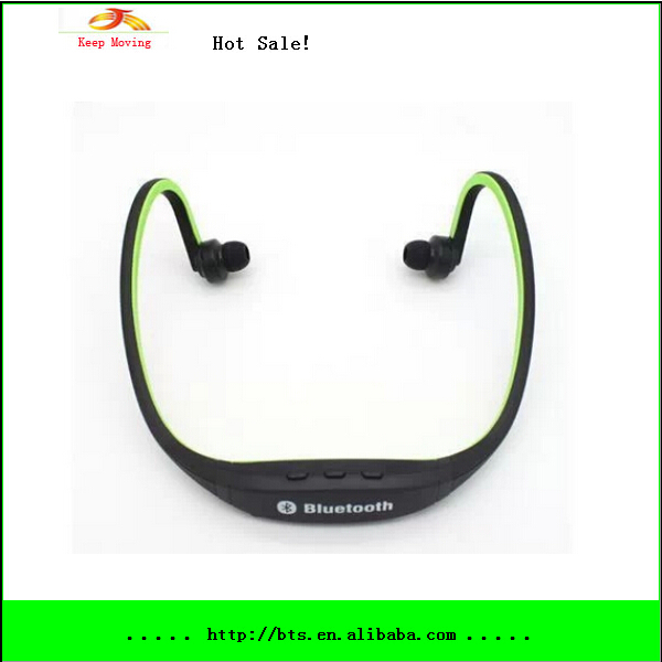Sport Headphones Wireless Bluetooth Headset Running Earphone Handsfree for iPhone 5S Samsung Galaxy Note 3 HTC Nokia Cell Phone(China (Mainland))