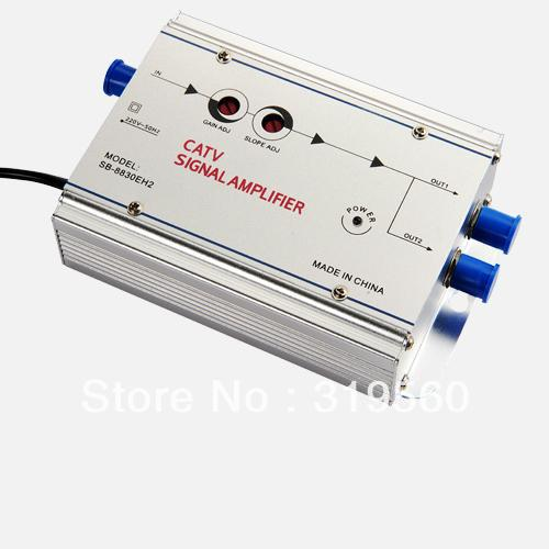 Seebest Cable TV Signal Amplifier Splitter Booster CATV amplifier 2 Output 30DB SB-8830H2/EH2(China (Mainland))