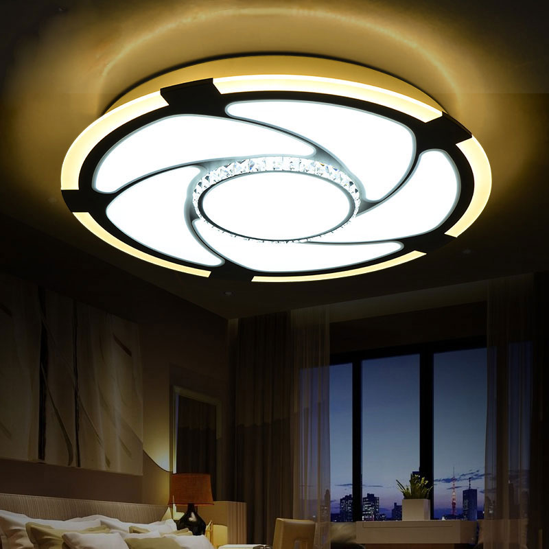 Buy modern led ceiling lights living room ac85 265v for Modern living room ceiling lights