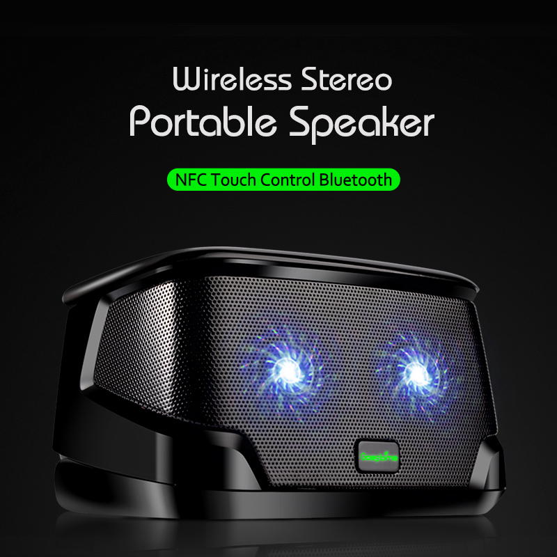Гаджет  NFC Touch Control Vibration speaker Portable Mini Resonance Speaker Wireless Portable Bluetooh Speaker Rocking Speaker With Mic None Бытовая электроника