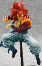 Moda Brinquedos Anime brinquedos Figura Dragon Ball Z Super saiyan gogeta figuração PVC Action Figure Collectible Modelo toy presentes(China)