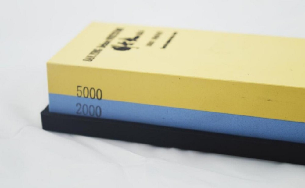 "Buy Sanying Kitchen Knife Portable sharpener water whetstone corundum whetstone 7x2x1"" inches 2000/5000 Grit cheap"