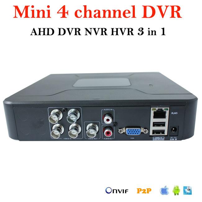 Цифровые видеорегистраторы 4 канала
